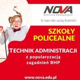 Szkoła policealna Lublin Technik Administracji NOVA CE