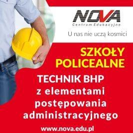 Szkoła policealna Lublin TECHNIK BHP NOVA CE