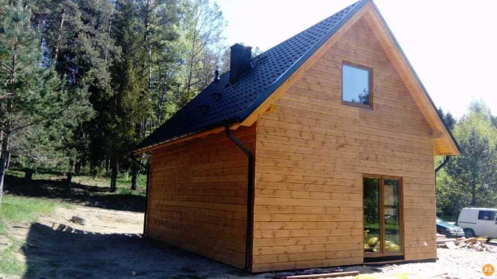 Domy drewniane Pomorskie Gdańsk Góra