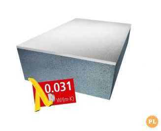 Styropian LAMBDA WHITE 0,031 Fasada 150 - 250mm
