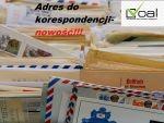 Adres do korespondencji – nowość na rynku!