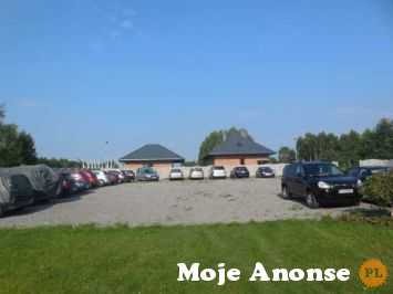 Jasionka parking samochodowy