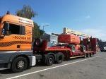transport maszyn budowlanych wózków maszyn rolniczych auto laweta